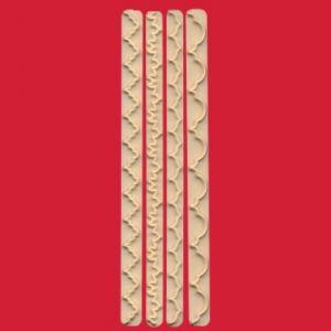 FMM Straight Frill Cutters no. 1