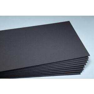 Foamboard zwart 5 mm 70x100 cm