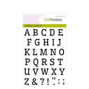 Clearstempel Alfabet