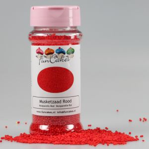 FunCakes Musketzaad Rood 80gr
