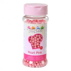 FunCakes Suikerparels 4mm Pearl Pink 80gr