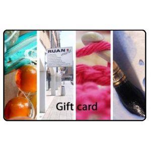 Gift card ruan