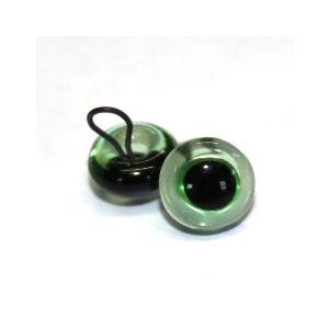 Glas ogen groen 14mm