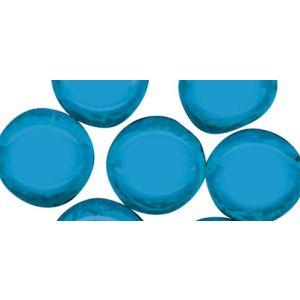 Mozaiek glassteentjes rond 1cm lichtblauw Rayher 1452108