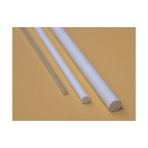 Glasvezel Exel 4mm - vol wit, lengte 100cm