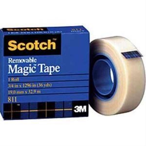 3M scotch removable magic tape