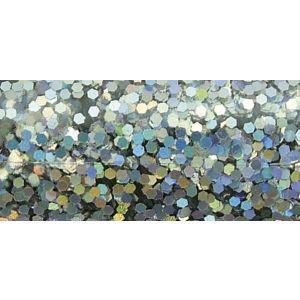 Hologram glitter briljant zilver Rayher 39 422 610