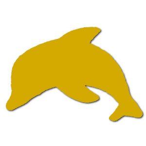 Houten dolfijn 80 cm