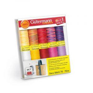 Gütermann 702166 Allesnaaigaren set 10 spoelen assorti