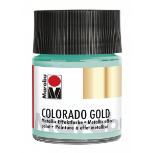Marabu Colorado Gold metallic-effectverf 50ml 713 Metallic-oranje