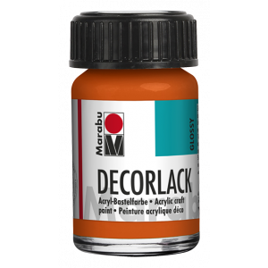 Marabu Decorlack Acrylverf 15ml 013 Oranje