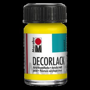 Marabu Decorlack Acrylverf 15ml 019 Geel