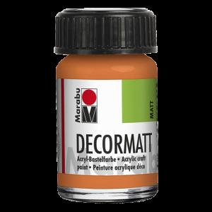 Marabu Decormatt acrylverf 15ml 013 Oranje