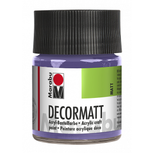 Marabu Decormatt acrylverf 50ml 007 Lavendel