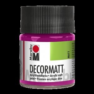 Marabu Decormatt acrylverf 50ml 014 Magenta