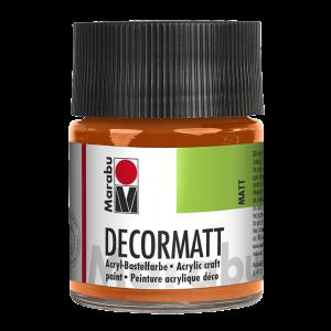 Marabu Decormatt acrylverf 50ml 013 Oranje