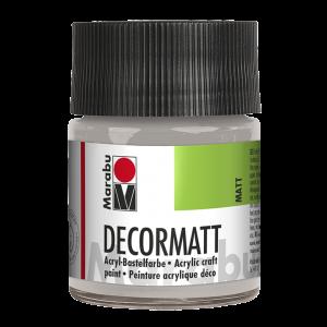 Marabu Decormatt Acryl 50 ml 782 Zilver Metallic