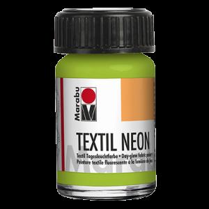 Marabu Textiel Neon verf 15ml 365 neon-groen