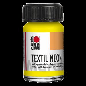 Marabu Textiel Neon verf 15ml 321 neon-geel