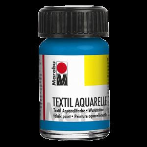 Marabu Textiel Aquarel verf waterverf 15ml 056 Cyaan