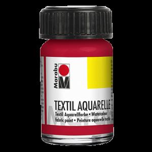 Marabu Textiel Aquarel verf waterverf 15ml 031 Kersenrood