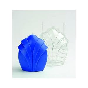 Kaarsengietvorm bloem 115x50x140mm