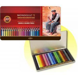 KIN aquarel potloden set 72 st assorti
