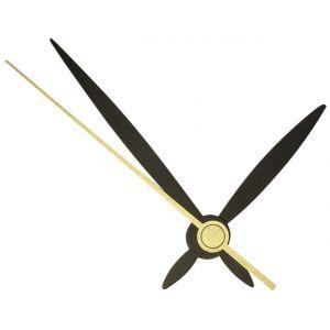 Klok Wijzers 45/65/70mm zwart Rayher 89 310 01