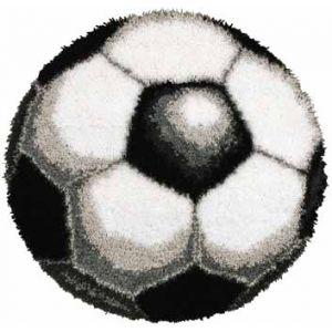 Knooppakket Shaped rug voetbal