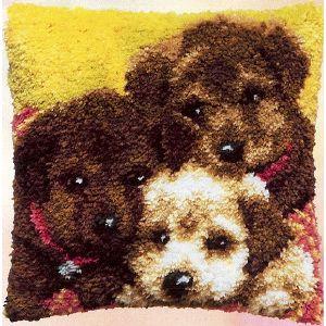 Knoopkussen pakket 3 honden