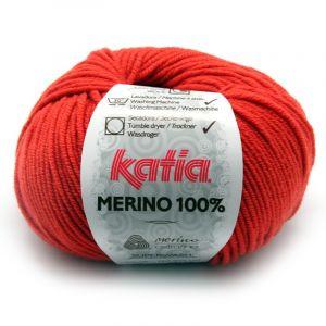 Merino 100% kleur 20 oranje