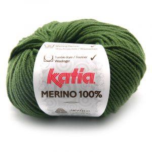 Merino 100% kleur 23 dennegroen