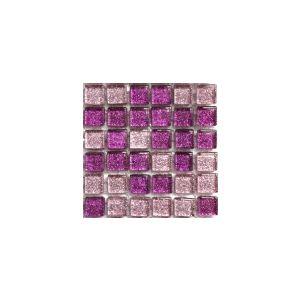 Mini Glitter Fuchsia Magic 10x10 mm