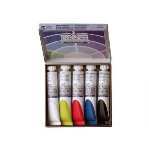 Mixing Colours kartonnen set met 5 tubes á 20 ml