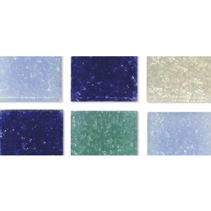 Mozaïekstenen 2cm blauwtinten Rayher 1453108
