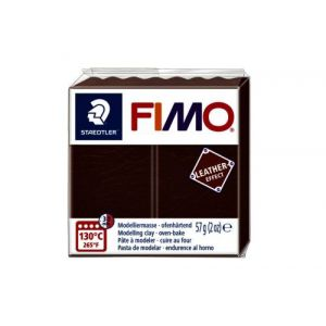 Fimo Staedtler Klei Fimo leather-effect noot