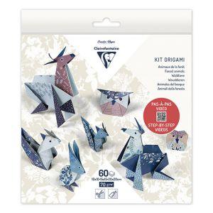 Origami papier Exotisch 60 vel 15x15 cm