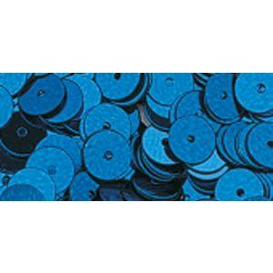 Pailletten glad donkerblauw 6mm Rayher 39 200 10