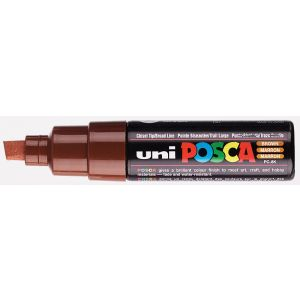 UniPosca breed PC8K 8mm bruin