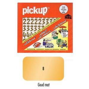 Pickup cijfers vivace goud