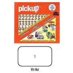 Pickup cijfers vivace wit