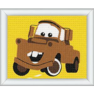 Vervaco Disney® borduurstramien Cars Mater PN-0014543