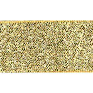 Decoratie lint lamé kleur 200 goud 15mm