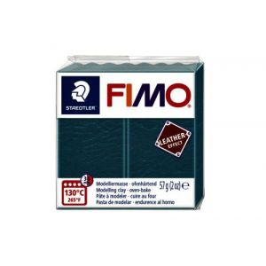 Fimo Staedtler Klei Fimo leather-effect Fimo leer effect 57g lagune