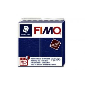 Fimo Staedtler Klei Fimo leather-effect Fimo leer effect 57g indigo