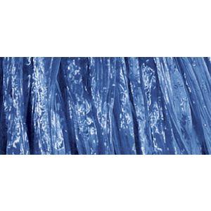 Raffia glanzend blauw Rayher 52 148 10