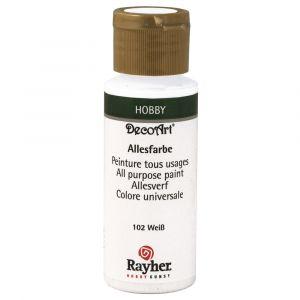 Rayher allesverf acryl kleur 102 wit