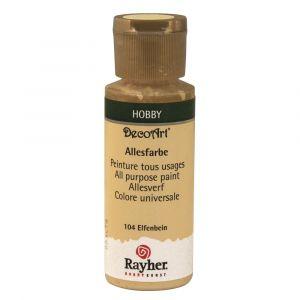 Rayher allesverf acryl kleur 104 ivoor
