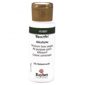 Rayher allesverf acryl kleur 105 albastwit