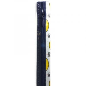 Opti 210 blinde naadrits 40cm donkerblauw